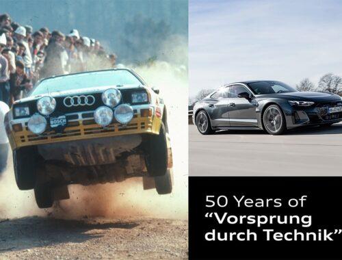 Επέτειος 50 χρόνων για το Vorsprung durch Technik