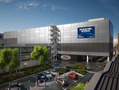 Η Ford ξεκίνησε την ανέγερση του Cologne Electrification Center