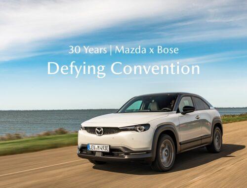 Mazda και Bose συνεχίζουν τη συνεργασία τους