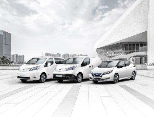 Nissan EV sales